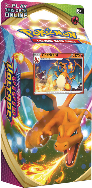 Pokemon Trading Card Game Sword & Shield Vivid Voltage Charizard Theme Deck