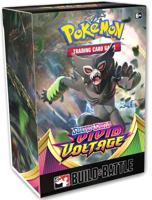 Pokemon Trading Card Game Sword & Shield Vivid Voltage Build & Battle Box [4 Booster Packs & 23-Card Evolution Pack!]