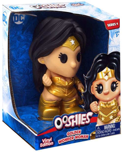 Ooshies DC Comics Series 4 Golden Wonder Woman 4-Inch Vinyl Figure