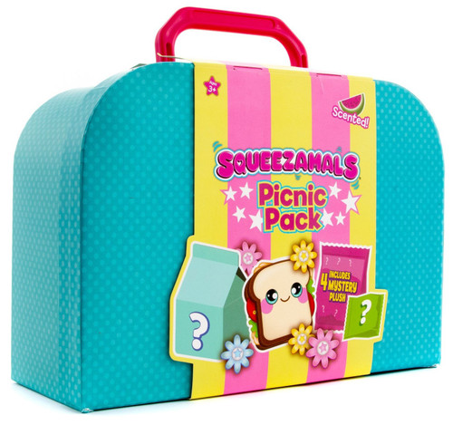 Squeezamals Picnic Pack Mystery 4-Pack