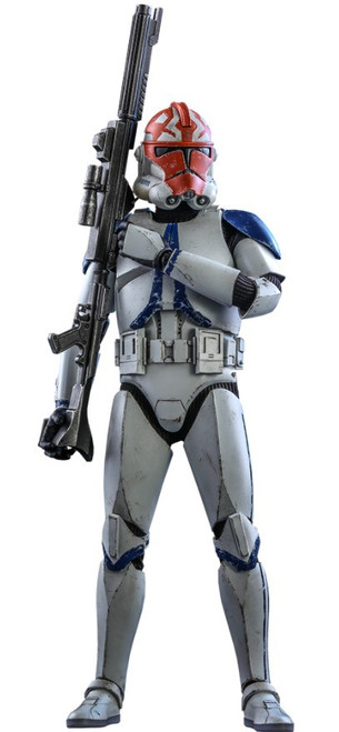 Star Wars The Clone Wars 501st Battalion Clone Trooper Collectible Figure [Deluxe Version] (Pre-Order ships January 2022)