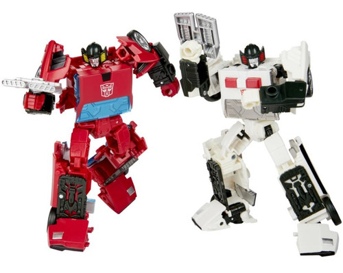Transformers Generations Selects Spinout & Cordon Deluxe Action Figure 2-Pack (Pre-Order ships March)
