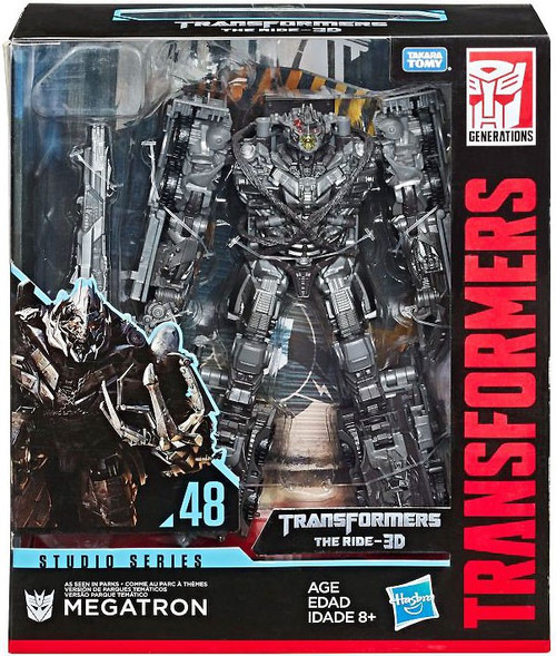 Transformers Generations Studio Series Megatron Leader Action Figure #48 [The Ride-3D] (Pre-Order ships February)
