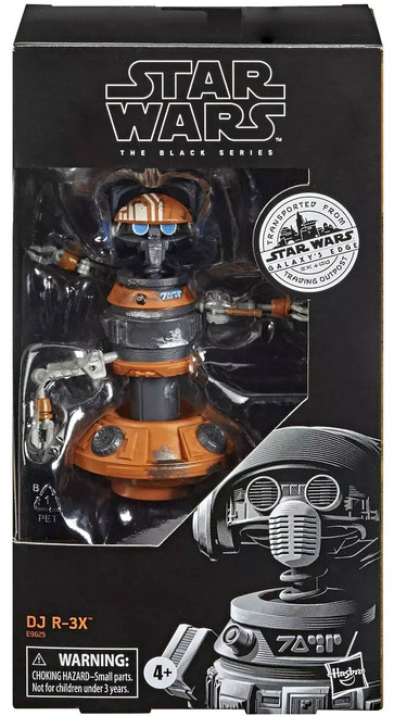 Star Wars Galaxy's Edge Black Series DJ R-3X Exclusive Action Figure