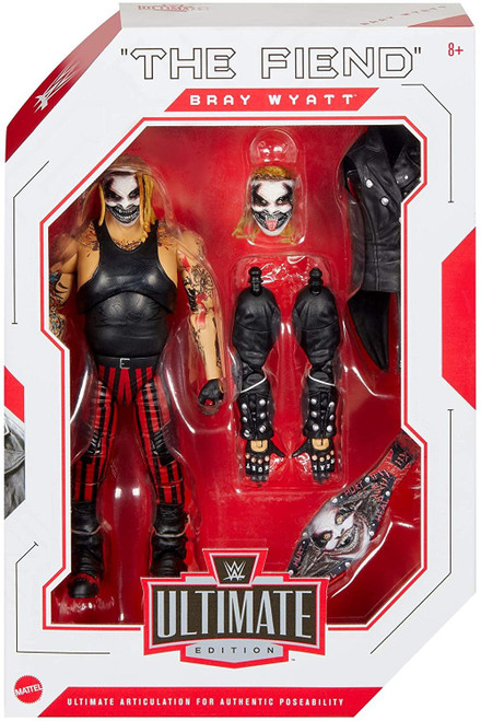 """WWE Wrestling Ultimate Edition Wave 7 """"The Fiend"""" Bray Wyatt Action Figure"""