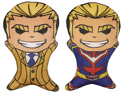 My Hero Academia All Might 19-Inch 2-Sided Pillow Plush (Pre-Order ships November)
