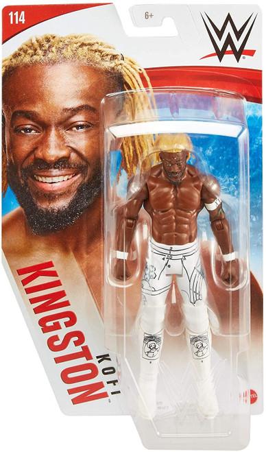 WWE Wrestling Series 114 Kofi Kingston Action Figure