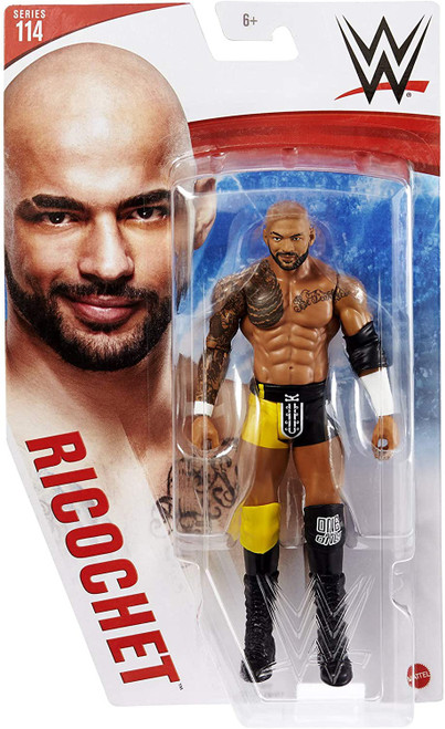 WWE Wrestling Series 114 Ricochet Action Figure [Chase] (Pre-Order ships May)
