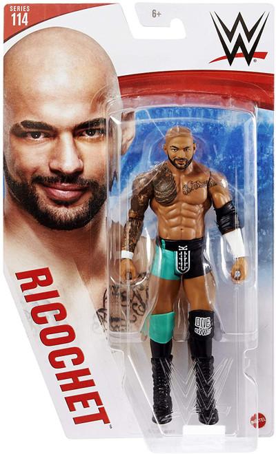 WWE Wrestling Series 114 Ricochet Action Figure [Green & Black Gear, Regular Version]