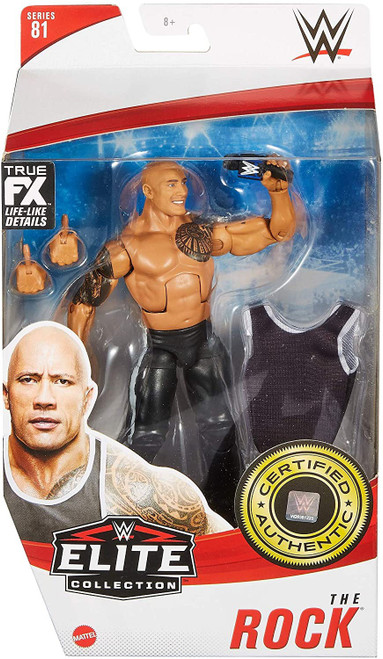 WWE Wrestling Elite Collection Series 81 The Rock Action Figure