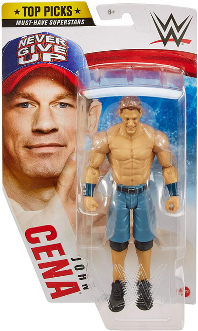 WWE Wrestling Top Picks 2021 John Cena Action Figure