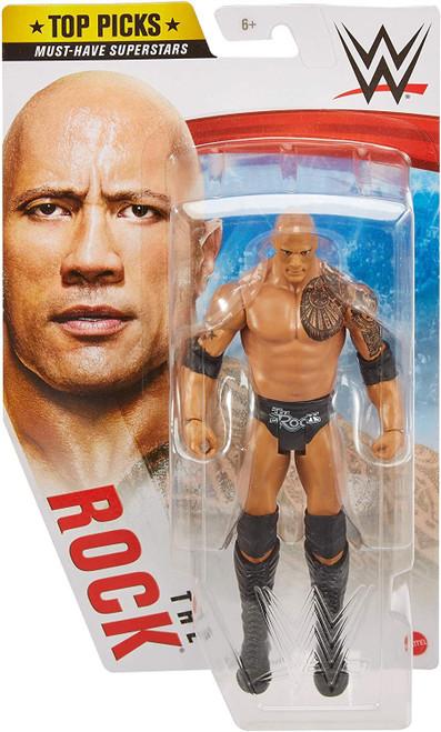 WWE Wrestling Top Picks 2021 The Rock Action Figure