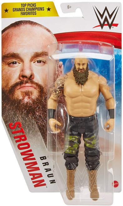 WWE Wrestling Top Picks 2021 Braun Strowman Action Figure