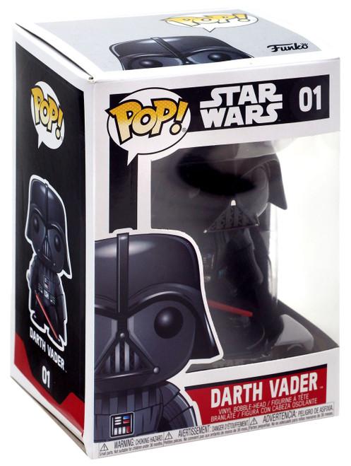 Funko POP! Star Wars Darth Vader Vinyl Bobble Head #01 [Regular Version, Damaged Package]