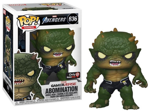 Funko Marvel Gamerverse Avengers POP! Games Abomination Exclusive Vinyl Bobble Head #636