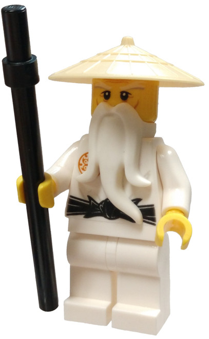 LEGO Ninjago Sensei Wu Minifigure [Tan Hat Loose]