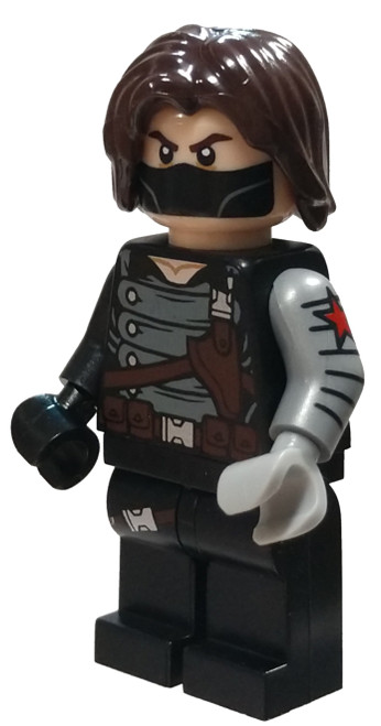 LEGO Marvel Super Heroes Avengers Winter Soldier Minifigure [Loose]