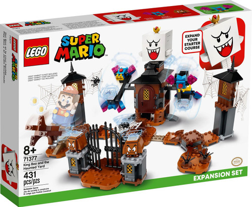 LEGO Super Mario King Boo and the Haunted Yard Exclusive Expansion Set #71377 [Damaged Package]