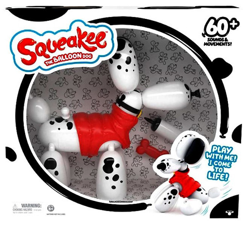 Squeakee Spotty the Balloon Dog Exclusive 14-Inch Interactive Figure
