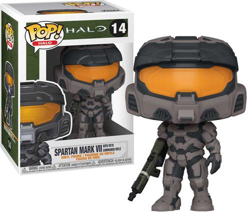 Funko Halo Infinite POP! Games Spartan Mark VII with Commando Rifle Vinyl Figure #14