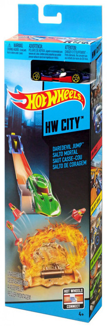 Hot Wheels HW City Daredevil Jump Track Set