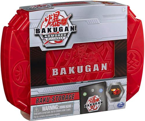 Bakugan Battle Planet Armored Alliance Baku-Storage Storage Case [Red, with Dragonoid]