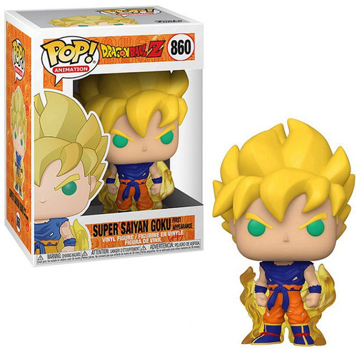 Funko Dragon Ball Z POP! Animation Super Saiyan Goku Vinyl Figure #860 [First Appearance]