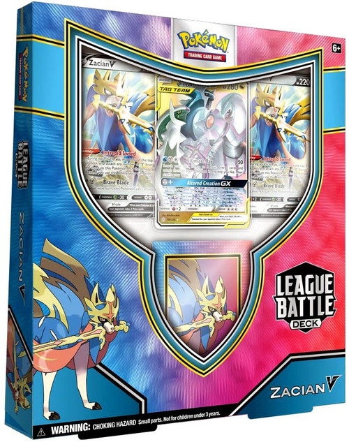 Pokemon Trading Card Game Zacian V Battle League Deck