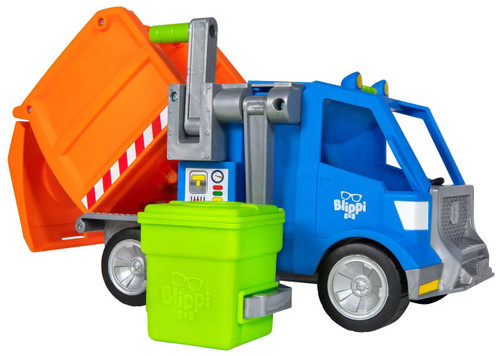 Blippi Recycling Truck Exclusive Vehicle [Hassle Free Packaging]