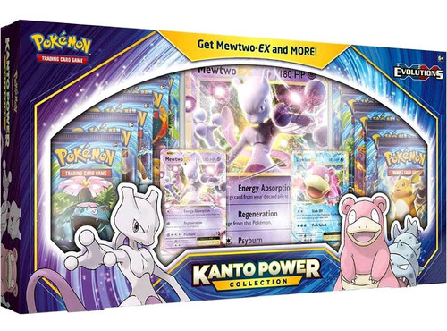 Pokemon Trading Card Game XY Evolutions Kanto Power Mewtwo-EX Collection [10 Booster Packs, 2 Promo Cards & Oversize Card!]
