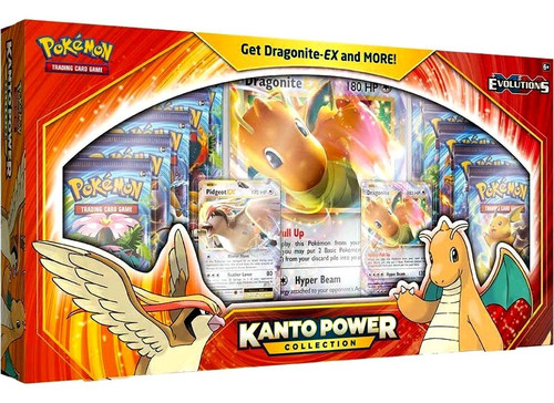 Pokemon Trading Card Game Kanto Power Dragonite-EX Collection [10 Booster Packs, 2 Promo Cards & Oversize Card!]