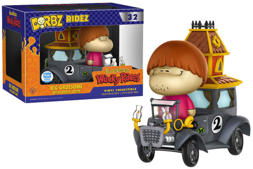 Funko Hanna-Barbera Wacky Races Dorbz Ridez Big Gruesome with Creepy Coupe Exclusive Vinyl Collectible