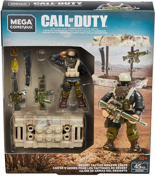 Call of Duty Desert Tactics Weapon Crate Set [Damaged Package]