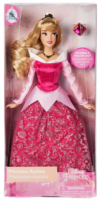 Disney Princess Sleeping Beauty Classic Princess Aurora Exclusive 11.5-Inch Doll [with Ring, Loose]