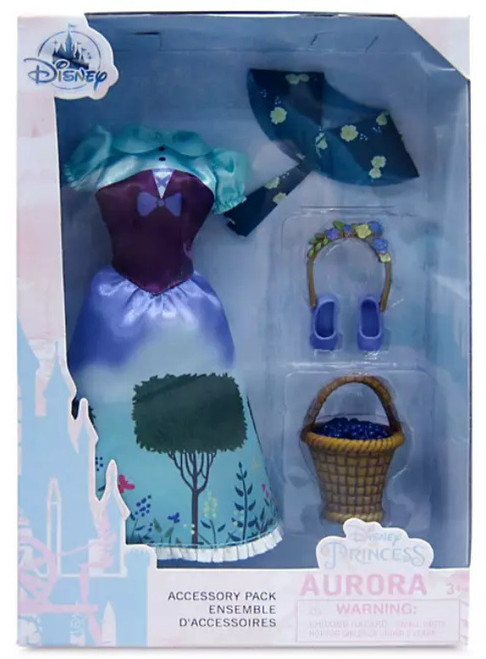 Disney Princess Sleeping Beauty Classic Aurora Exclusive 11.5-Inch Accessory Pack (Pre-Order ships June)