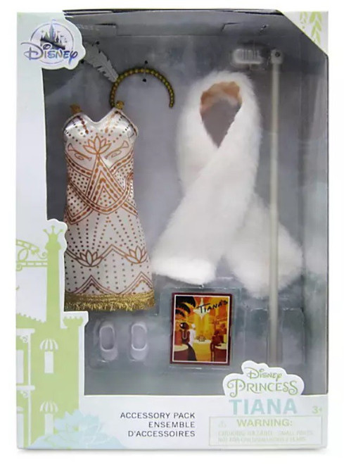 Disney Princess Princess & The Frog Classic Tiana Exclusive 11.5-Inch Accessory Pack (Pre-Order ships May)