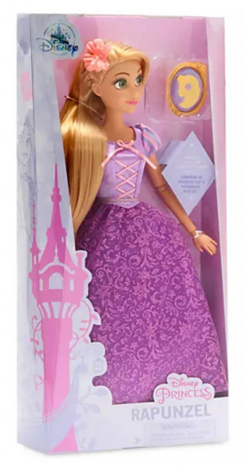 Disney Princess Tangled Classic Rapunzel Exclusive 11.5-Inch Doll [with Pendant]
