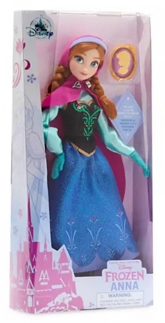 Disney Frozen Classic Anna Exclusive 11.5-Inch Doll [with Pendant]