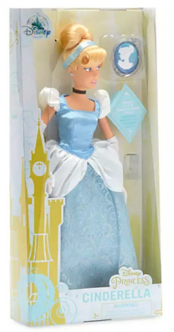 Disney Princess Classic Princess Cinderella 11.5-Inch Doll [with Pendant]