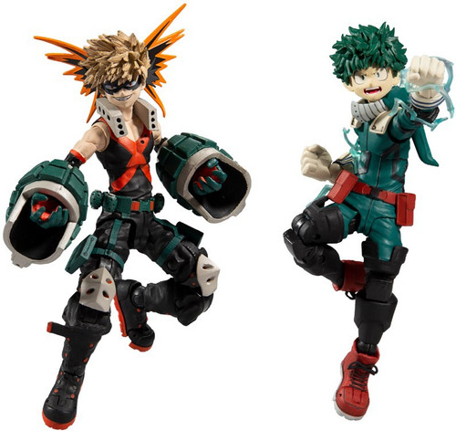McFarlane Toys My Hero Academia Midoriya & Bakugo Action Figure 2-Pack (Pre-Order ships June)