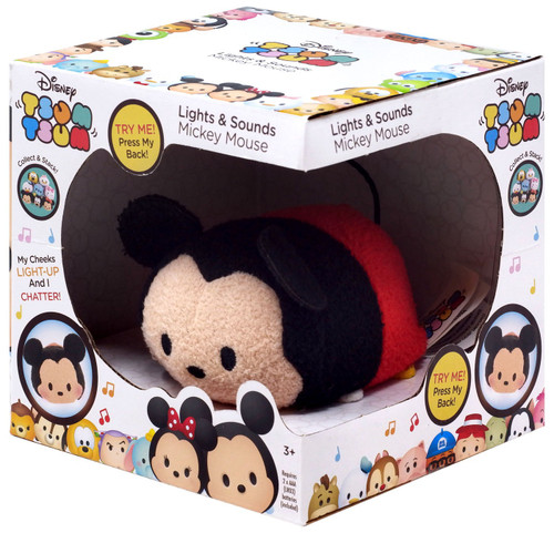 Disney Tsum Tsum Mickey Mouse 3.5-Inch Mini Plush [Lights & Sounds]