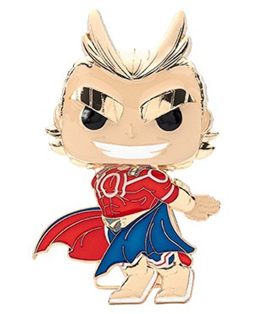 Funko My Hero Academia POP! Pins All Might Large Enamel Pin [Silver Age Chase Version] (Pre-Order ships January)