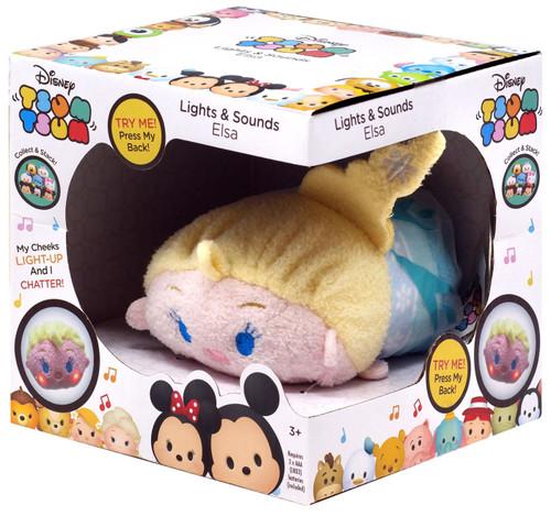 Disney Tsum Tsum Elsa 3.5-Inch Mini Plush [Lights & Sounds]