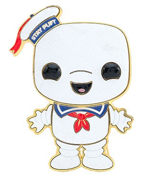 Funko Ghostbusters POP! Pins Stay Puft Large Enamel Pin (Pre-Order ships January)