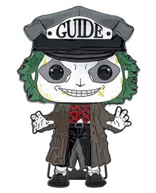 Funko Horror POP! Pins Beetlejuice Large Enamel Pin (Pre-Order ships January)