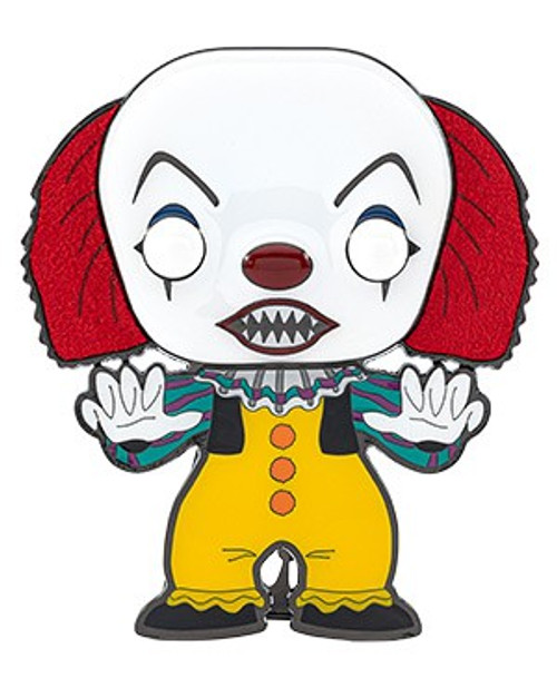 Funko Horror POP! Pins Pennywise Large Enamel Pin [1990] (Pre-Order ships November)