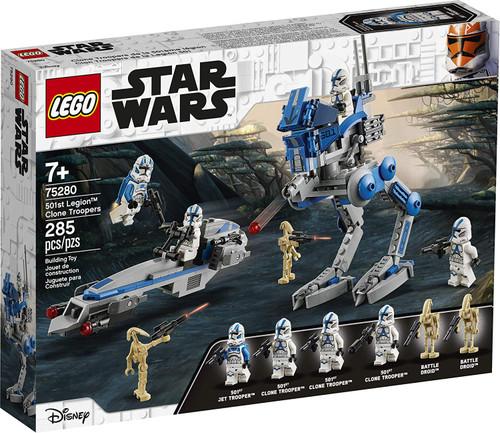 LEGO Star Wars 501st Legion Clone Troopers Set #75280