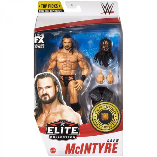 WWE Wrestling Elite Top Picks 2021 Drew McIntyre Action Figure (Pre-Order ships May)