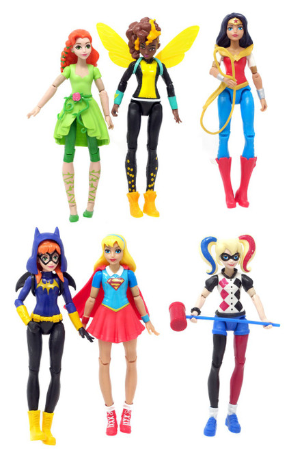 DC Super Hero Girls Ultimate Collection Action Figure 6-Pack [Loose]