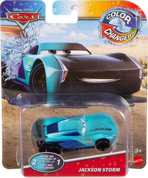 Disney / Pixar Cars Cars 3 Color Changers Jackson Storm Diecast Car